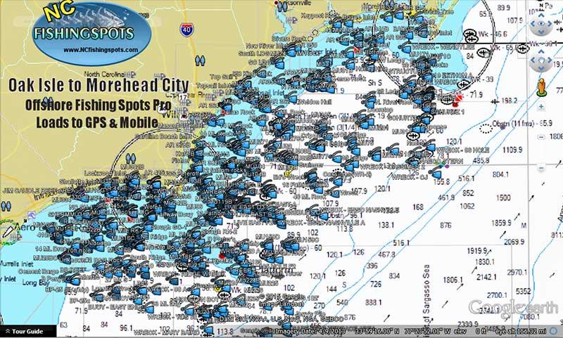 oak-island-to-morehead-city-fishing-spots-map